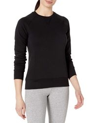 Russell Athletic 's V-notch Fleece Sweatshirt - Black