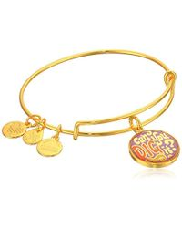 ALEX AND ANI - Words Are Powerful Bangle Bracelet - Lyst