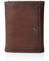 Geoffrey Beene - Stitched Burnished Rid Blocking Trifold Wallet - Lyst