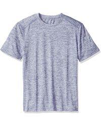 Amazon Essentials Tech Stretch Short-sleeve Performance T-shirt - Blue