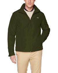 Lacoste Mens Nylon Easy Pack Down Jacket