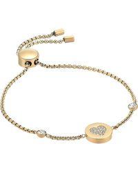Michael Kors - Symbols Gold-tone Bracelet - Lyst