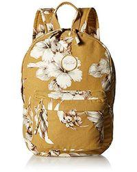 Rip Curl Island Time Backpack, Mustard, 1sz - Metallic