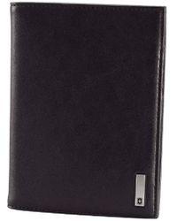 Victorinox - Altius 3.0 Oslo Leather Passport Cover, Black, One Size - Lyst