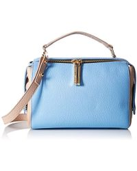 MILLY Astor Soft Satchel - Blue
