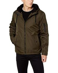 Calvin Klein - Rip Stop Hooded Jacket - Lyst