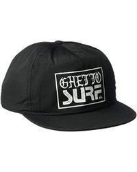 best sneakers f1094 16703 Quiksilver - Ghetto Surf Cap Hat - Lyst