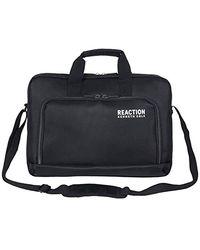 "Kenneth Cole Reaction Single Compartment Top Zip 15.6"" Laptop Case & Tablet Bag - Black"