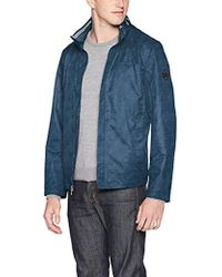 Nautica - Classic Fit Embroidered Levy Bomber Jacket - Lyst