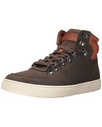 e881fbed Tommy Hilfiger Tadzia Lace-up High-top Sneakers in Black for Men - Lyst