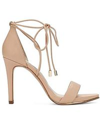 4011ead58fa Kenneth Cole - Berry Heeled Sandal With Ankle Wraparound Lacing - Lyst