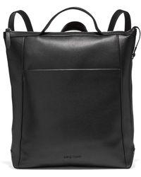 Cole Haan Gr Amb Lthr Backpack - Black