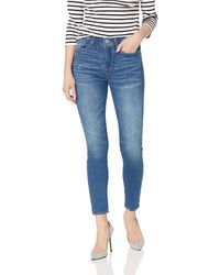 William Rast Sculpted High Rise Skinny Ankle - Blue