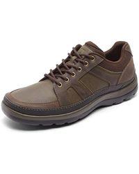 Rockport Mens Get Your Kicks Mudguard Blucher - Size 6 W - Brown