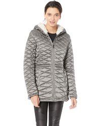 Steve Madden Glacier Shield Parka Jacket Down Alternative Coat - Gray
