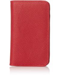 Buxton Hudson Pik-me-up Snap Card Case - Red