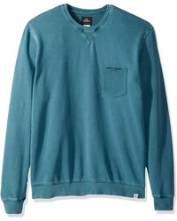 Rip Curl Sun Drenched Fleece Sweater - Blue