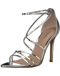 Charles David Trickster Heeled Sandal - Metallic