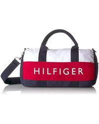 Tommy Hilfiger - Mini Duffle Bag Tommy Patriot Colorblock - Lyst