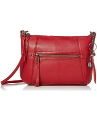 The Sak Crossbody Scarlet 10in L X 2in W X 7in H; Drop: Up To 23 Inches - Red