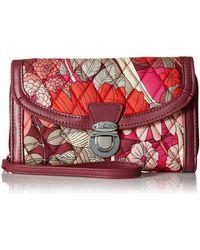 Vera Bradley Ultimate Wristlet - Red