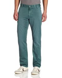 6e6aedc135f Dockers - Alpha Khaki Slim Tapered Flat Front Pant With Back Pocket - Lyst