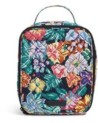 Vera Bradley Signature Cotton Bunch Lunch Bag - Multicolor