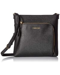 d9977295976 Calvin Klein - Hudson Saffiano Leather Top Zip North/south Crossbody - Lyst