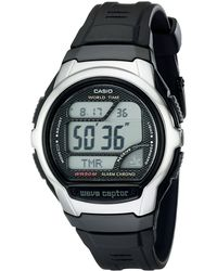 G-Shock WV58A-1A Waveceptor Atomic Digital Illuminator Rubber Strap Digital Chrono Watch - Grigio