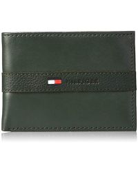 Tommy Hilfiger - Ranger Leather Passcase Wallet - Lyst