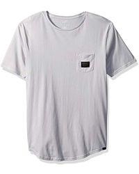 Quiksilver - Ss Scallop Tee East Woven Pocket T-shirt - Lyst