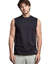 Russell Athletic Performance Sleeveless Muscle T-shirt - Black