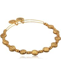 ALEX AND ANI - Coin Charm Bangle - Lyst