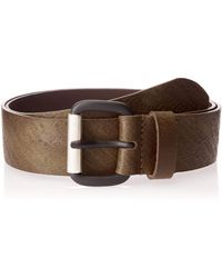 DIESEL STRIP - belt - Braun