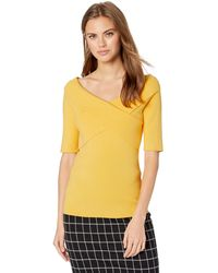 Bailey 44 Shore Leave Wide Neck Sweater - Yellow
