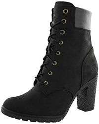 Timberland Glancy 6 Inch Heel Boots - Black
