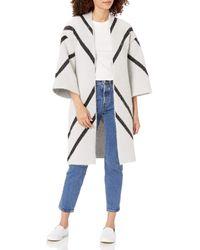 Steve Madden Aztec Print Kimono - White