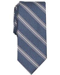 Perry Ellis Kelly Stripe Tie - Blue
