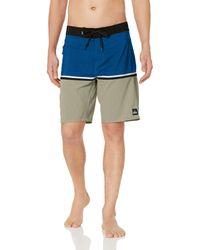 Quiksilver Highline Division 20 Boardshort Swim Trunk - Blau
