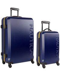 Nautica - Hardside Spinner Carry On Luggage Set - Lyst