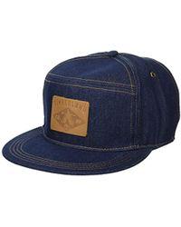 d6d245736aefbb Timberland - Cotton Denim Baseball Cap - Lyst