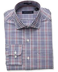 Tommy Hilfiger - Non Iron Regular Fit Check Spread Collar Dress Shirt - Lyst