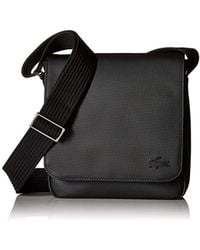 Lacoste - Flap Crossover Bag - Lyst