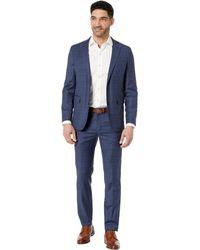 Cole Haan Slim Fit Suit - Blue