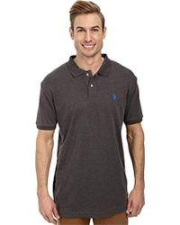 06005b0b U.S. POLO ASSN. - Solid Interlock Shirt (color Group 1 Of 2) -