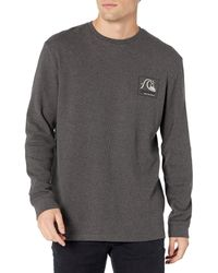 Quiksilver Leaping Thermo Long Sleeve Tee - Multicolour