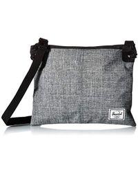 Lyst - Herschel Supply Co. Kingsgate Cross Body Bag in Black 9501deeb63ce4
