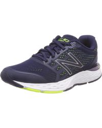 New Balance 680 V5 Running Shoe - Blue