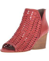 Donald J Pliner Jacqi Wedge Sandal - Red