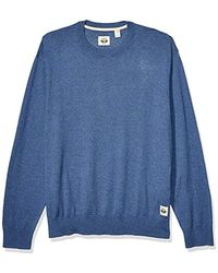 Dockers Long Sleeve Crewneck Sweater - Blue